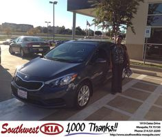 https://flic.kr/p/JSRXtK | #HappyBirthday to Laquinthia from Clinton Miller at Southwest Kia Mesquite! | deliverymaxx.com/DealerReviews.aspx?DealerCode=VNDX