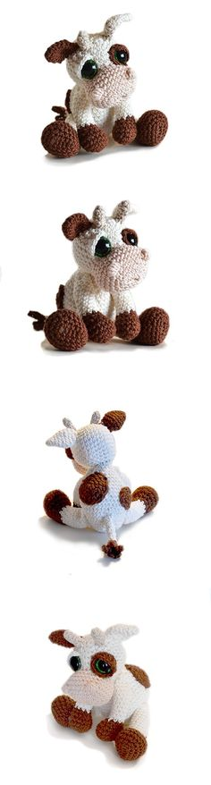 Mable the Cow Found at Amigurumipatterns.net
