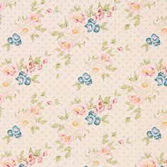 Tilda Cybill 2 - Tildas värld - Tyger- tyg.se Scrapbooking, Scrapbook Paper, Color Stories, Romantic, Quilts, Blanket, Fabric, Cards, Classic