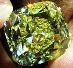 The Symbolic Yellow Diamond, 114 carats