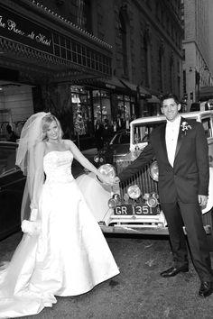 Rolls Royce wedding