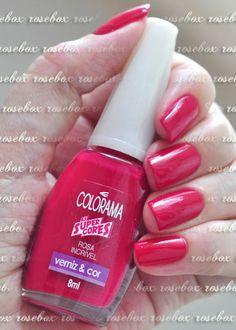 esmalte Colorama rosa incrível