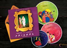 Fun, unique and creative Indian Wedding Invitation | Caricature | South Indian | friends