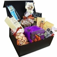 There's no better way to say thank you than with the Deluxe Chocolate Box stuffed full of sweet favourites! #Chocolate #ChocolateGifts #ChocolateBox  £49.99