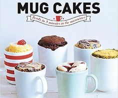 Mug Cakes! Create delicious mini cakes in a matter of minutes! They require minimal effort but you will eat rewards! Available To Buy Now From Prezzybox at Mug Cakes In Stock With Fast, UK Delivery. Mug Cakes, Cake Mug, Mug Recipes, Cake Recipes, Dessert Recipes, Muffin Recipes, Pumpkin Recipes, Breakfast Recipes, Vegan Recipes
