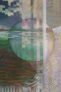 Joan Baxter detail of Loom