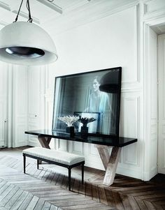 parisian apartments interiors | Charming Parisian Apartment | Interiors - Paperblog