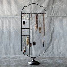 Turn of the Century Jewelry Holder ★ Creative Co-Op Home
