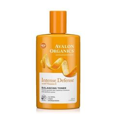 Avalon Organics Intense Defense Balancing Toner, 8.5 Fluid Ounce, Multicolor
