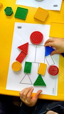 Blogue do Jardim Escola Carrocel: Blocos Lógicos Cognitive Activities, Montessori Activities, Infant Activities, Activities For Kids, Animal Crafts For Kids, Diy For Kids, Kindergarten Math, Preschool, Fun Learning Games