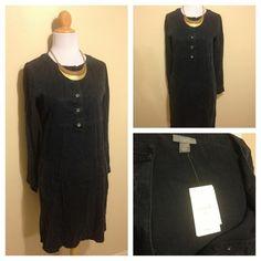 NWT J.Jill blue cargo dress size XS