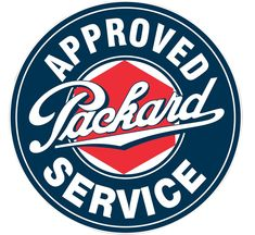 Vintage Packard service sign recreated in heavy 18 gauge steel. Bright graphics make this a center piece for any Packard collector. This is one of the highest quality reproduction signs made in the USA by Signpast. Car Signs, Garage Signs, Garage Art, Neon Signs, Logos Vintage, Vintage Cars, Vintage Auto, Retro Logos, Vintage Room