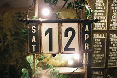 Industrial-inspired reception styling {Photography: White Images}