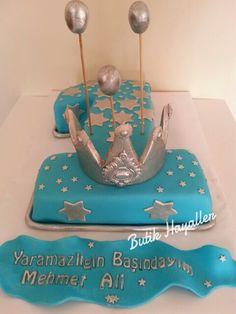 Krallara layık 1 yaş pastası