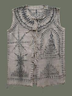 Buddhist talismanic shirt