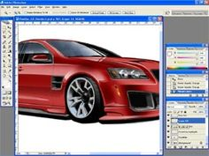 How To Render Amazing 3D Cars in #Photoshop ... In Less Than 60 minutes ... GUARANTEED