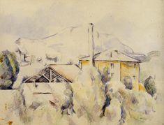 The Lime Kiln - Paul Cezanne   #cezanne #paintings #art