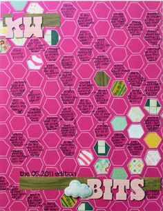 love the beehive journaling spots & cut outs