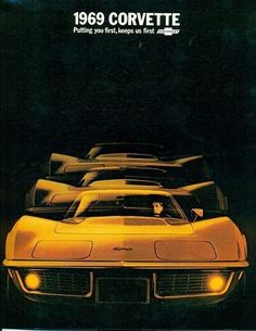 1969 Chevrolet Corvette Stingray.