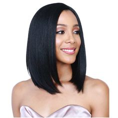 Wigs Female Wig Short BoB Wigs For Black Women Fashion Short Straight Black Synthetic Wigs Heat Resistant Cheap BoB Wigs For Women -- AliExpress Affiliate's Pin. Find out more by clicking the image