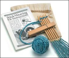Stick-Weaving Kit