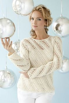 Icicles Pullover | crochet today
