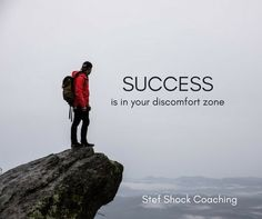 Comfort is overrated. Get comfortable with discomfort and you will surmount all your challenges. Coaching, Challenges, Real Estate, Inspirational Quotes, Success, Movies, Movie Posters, Training, Life Coach Quotes