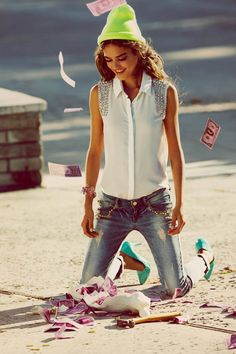 Tally Weijl Taps Daria Pleggenkuhle For Its Spring 2013 Campaign