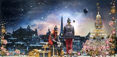 CONTE DE PRINTEMPS À NOËL. Tommy Hilfiger - Printemps Homme. Illustration Laurent Sanguinetti 150.printemps.com  photos@FrancisPeyrat 11.2015