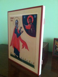 we build traditional heirloom quality mounted icons. www.orthodoxchristiansupply.com