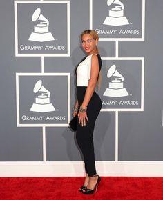 Beyonce de Osman en la alfombra roja de los #Grammys