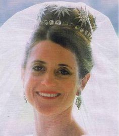 La tiara de los Glenconner