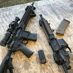 Pair of AR-15's from Instagram