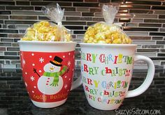 How to make caramel popcorn in the microwave! Easy recipe and great for holiday gifts! #ad #movienight4less #collectivebias