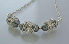 Silver and Gray Pearl - turkish orbital