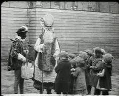 Intocht van de Sint in 1920 filmbeelden!