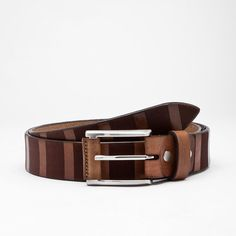 Rocco Leather Belt // Nut (30)