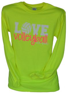 LOVE VOLLEYBALL Long Sleeve T-Shirt