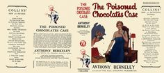 Facsimile Dust Jackets L.L.C.: Poisoned Chocolates Case, The by Berkeley, Anthony