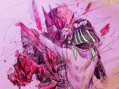 Red Stuff, Slayer Meme, Kamen Rider Series, Izu, Power Rangers, Character Art, Geek, Fan Art, Poses