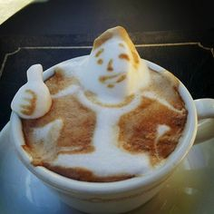 Amazing 3D Drawings For Coffee Lovers – Latte