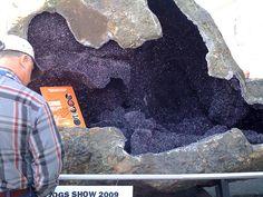 giant amethyst crystal