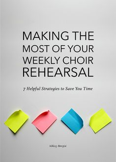 Making the Most of Your Weekly Choir Rehearsal: 7 Helpful Strategies to Save You Time Singing Lessons, Singing Tips, Music Lessons, Art Lessons, Choir Warm Ups, Music Education, Music Teachers, Health Education, Physical Education