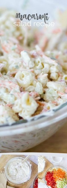 Elbow Macaroni Salad, Great Side Dish For Parties, Pin Now For Later!(Salad Recipes To Try) Creamy Macaroni Salad, Best Macaroni Salad, Macaroni Pasta, Macaroni Salads, Elbow Macaroni Recipes, Mexican Macaroni Salad, Party Side Dishes, Spaghetti, Pasta Salad Recipes
