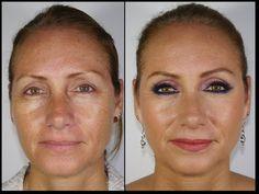 Maquillaje Rejuvenecedor - Para Mujeres de 40 a mas Rápido y Simple - YouTube