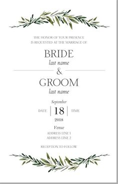 Affordable Wedding Invitations, Custom Wedding Invitations | Vistaprint