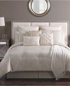 Persevering King Size Serene Duckegg Bedspread Set Faux Silk Taffeta Crinkle Band Blue Green Home & Garden Other Bedding