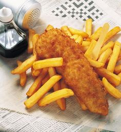 Images of Traditional British Recipes: Great British Food - Fish and Chips