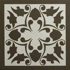 Adesivo para Azulejo Ladrilho Hidráulico Estilizado 16 peças
