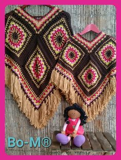 Gorgeous ponchos - Inspiration only......